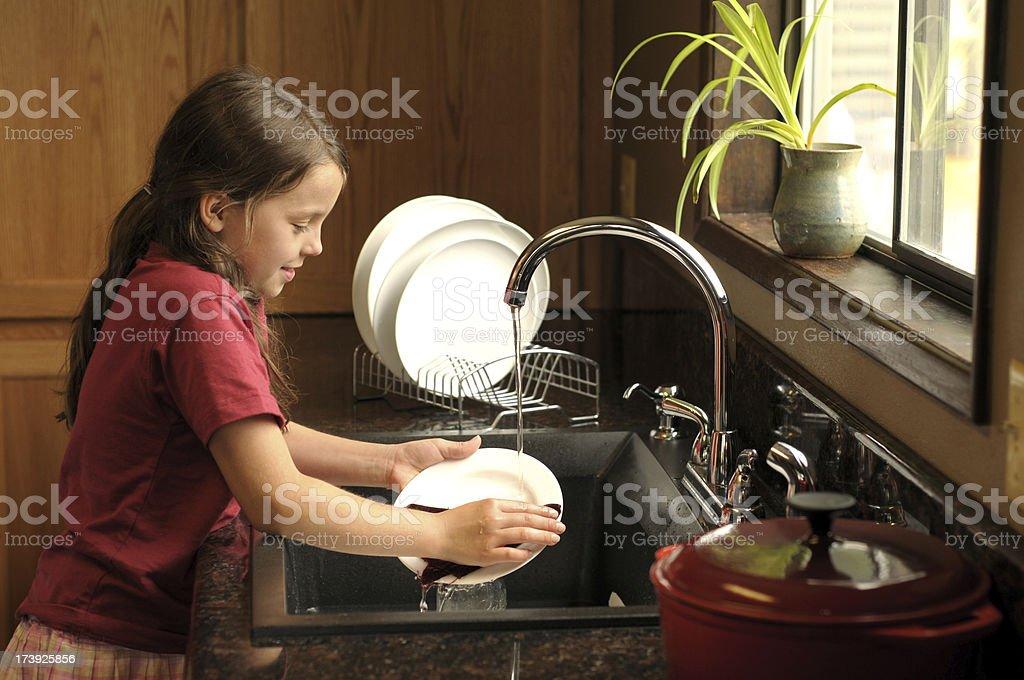 chores royalty-free stock photo