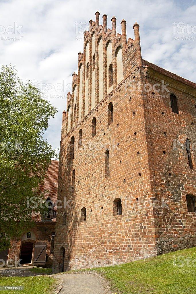 Chorin Abbey royalty-free stock photo