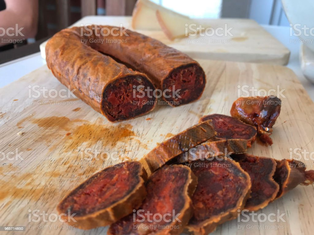 Chorizo de Leon - Royalty-free Appetizer Stock Photo