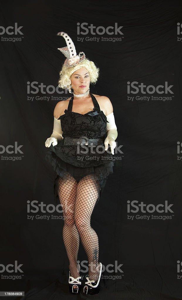 Chorus Girl stock photo