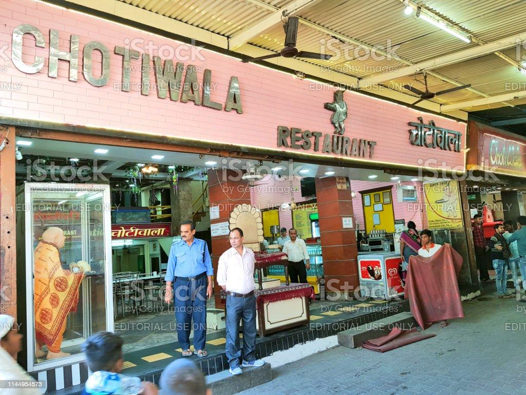 Chotiwala Restaurant In Rishikesh Stock Photo - Download Image Now - iStock