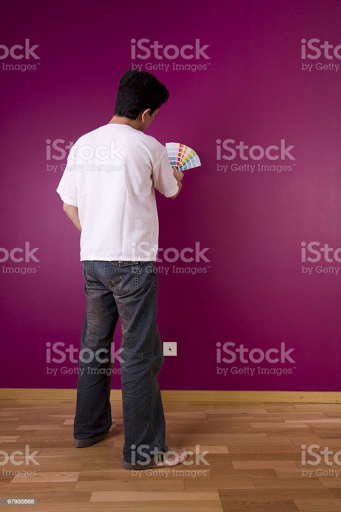 chousing color royalty-free stock photo