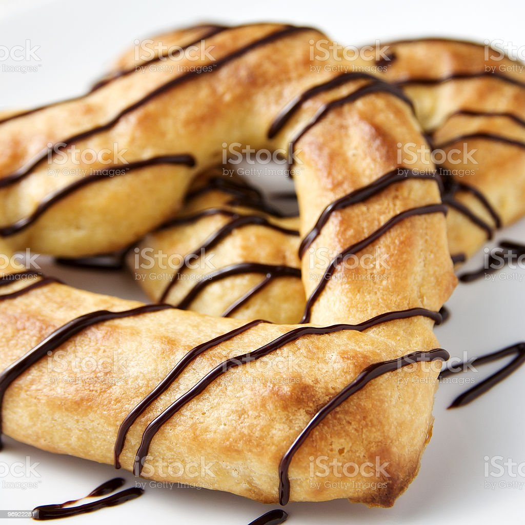 Choux Pastry royalty-free stock photo