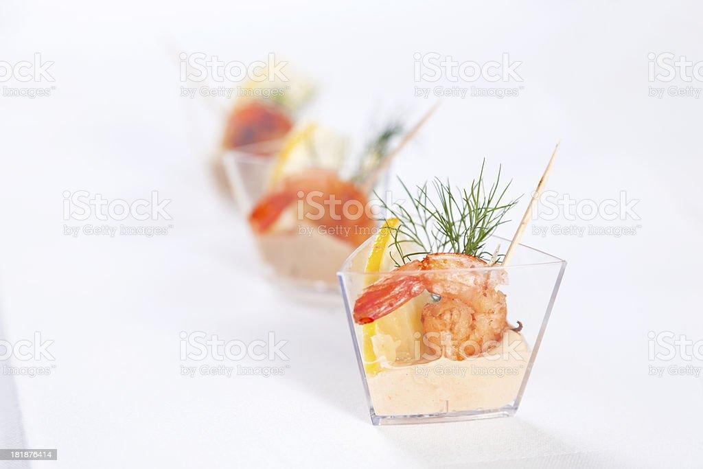 Chrimp cocktail royalty-free stock photo