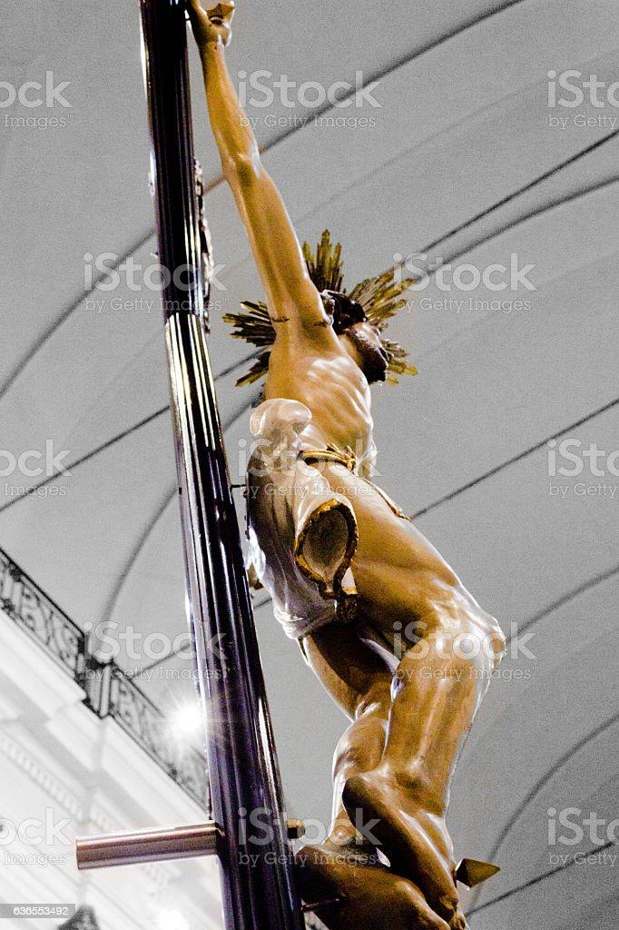 Christ b&W - Riviera 2014 stock photo