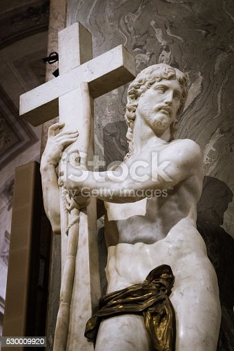 974882202 istock photo Christ Carrying the Cross 530009920