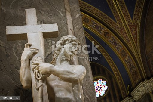 974882202 istock photo Christ Carrying the Cross 530181252