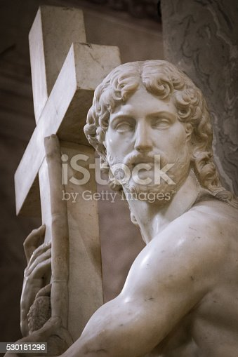 974882202 istock photo Christ Carrying the Cross 530181296