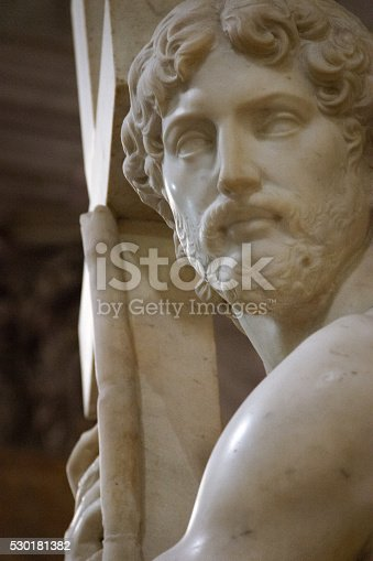 974882202 istock photo Christ Carrying the Cross 530181382