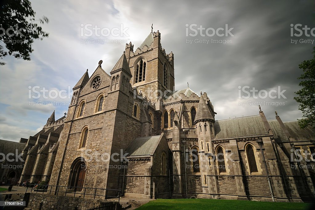 christ church cathedral, dublin royalty-free stock photo