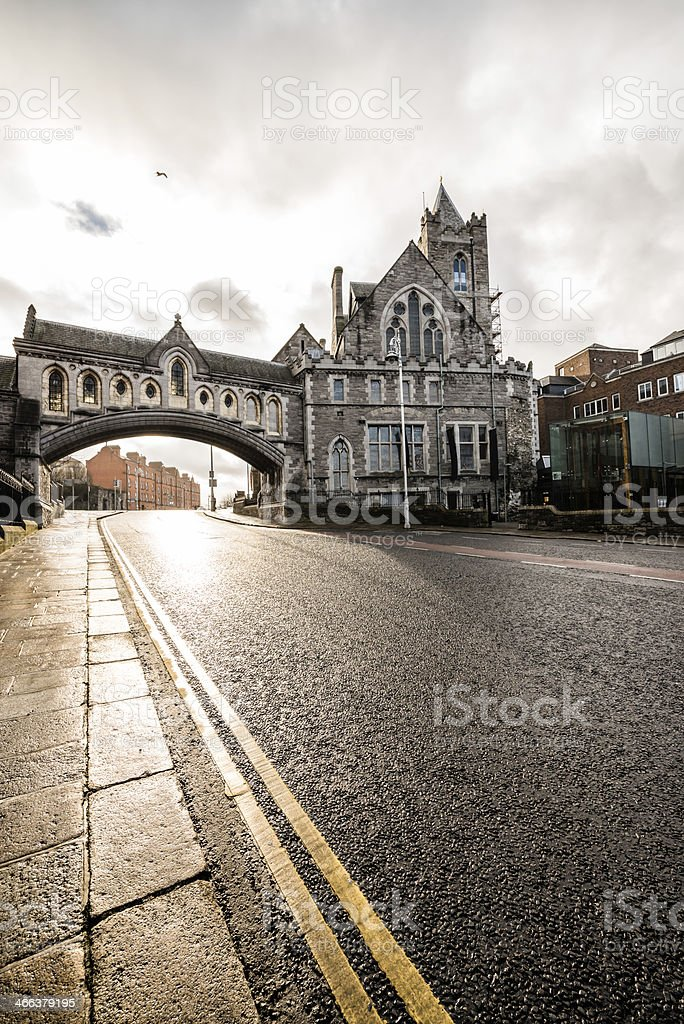 Christ Church Cathedral, Dublin stock photo