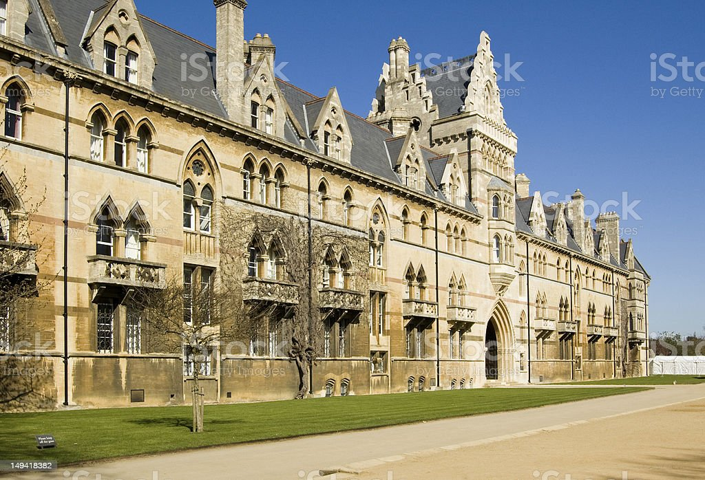 Christ Church College, Oxford royalty-free stock photo