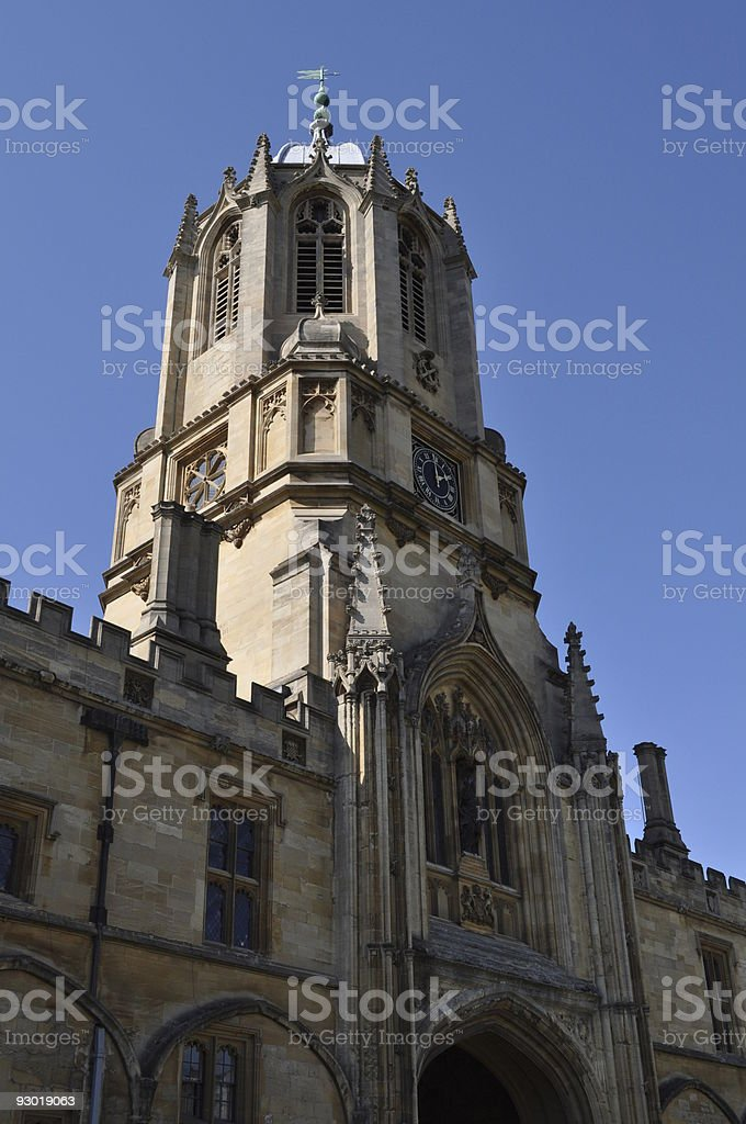 Christ Church College Oxford stock photo