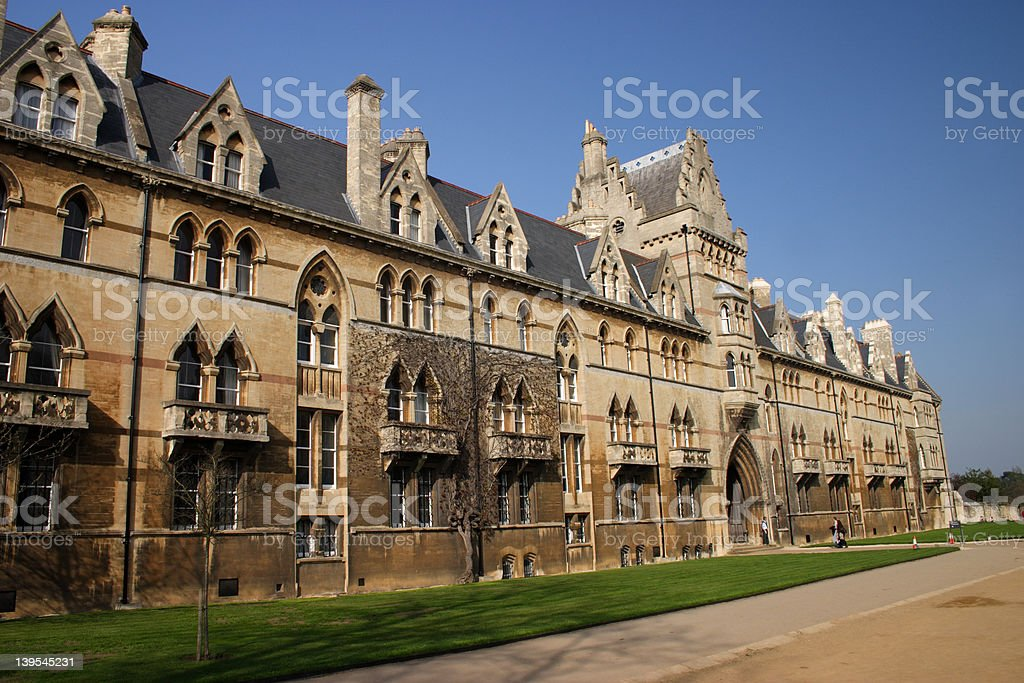 Christ Church College Oxford University stock photo