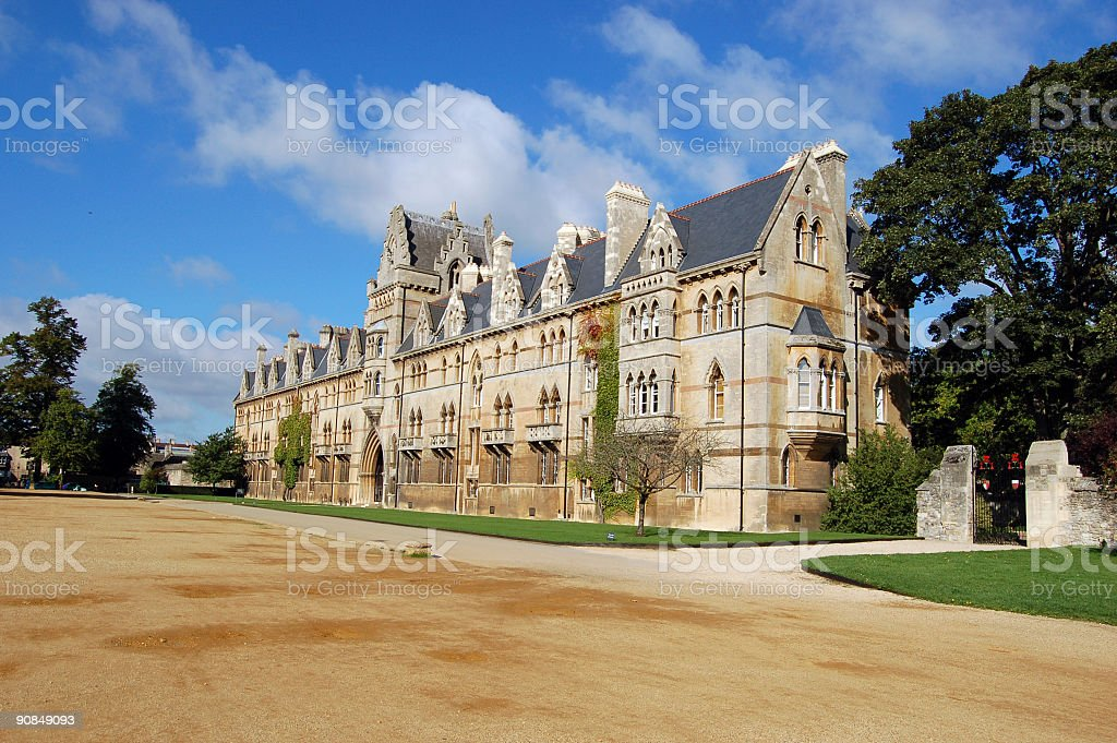 Christ Church college, Oxford University stock photo
