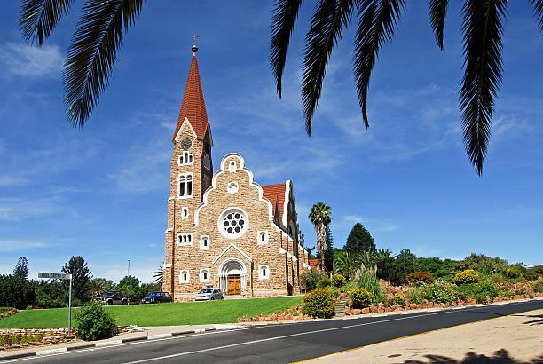 Christ Church-marco histórico em Windhoek, Namíbia - foto de acervo