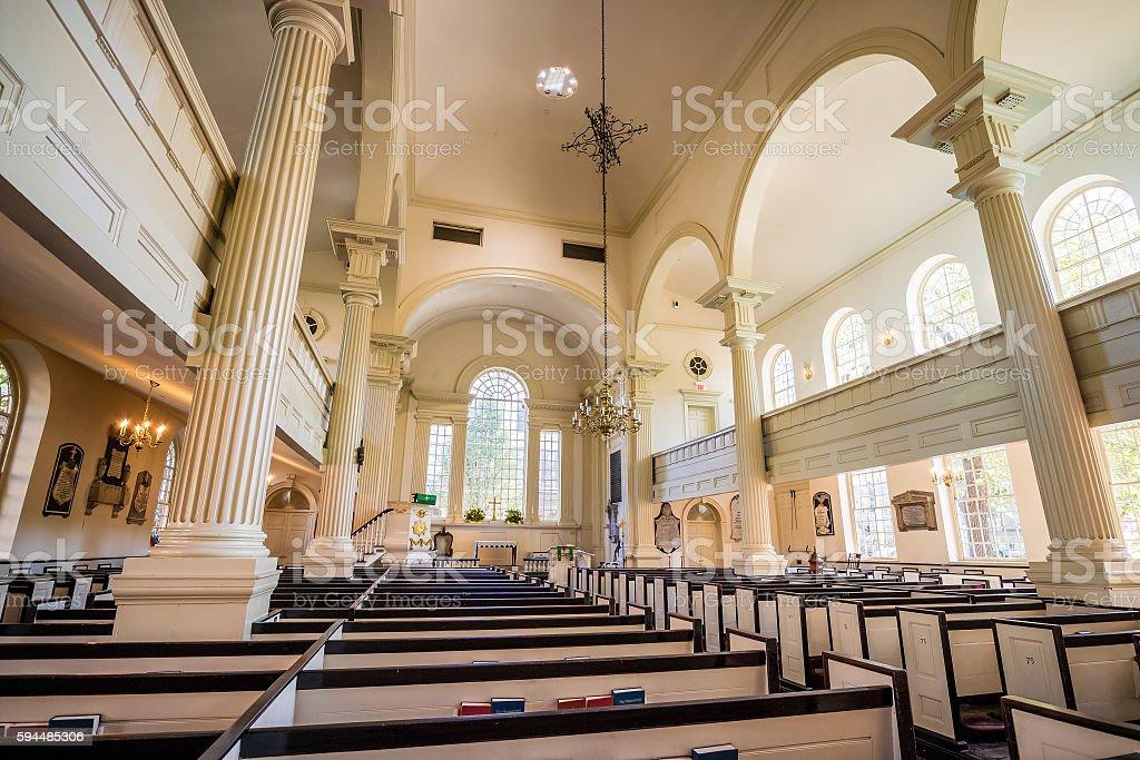 Christ Church in Philadelphia, Pennsylvania stock photo