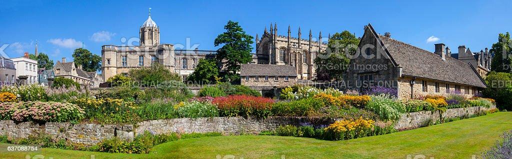 Christ Church Memorial Garden in Oxford stock photo