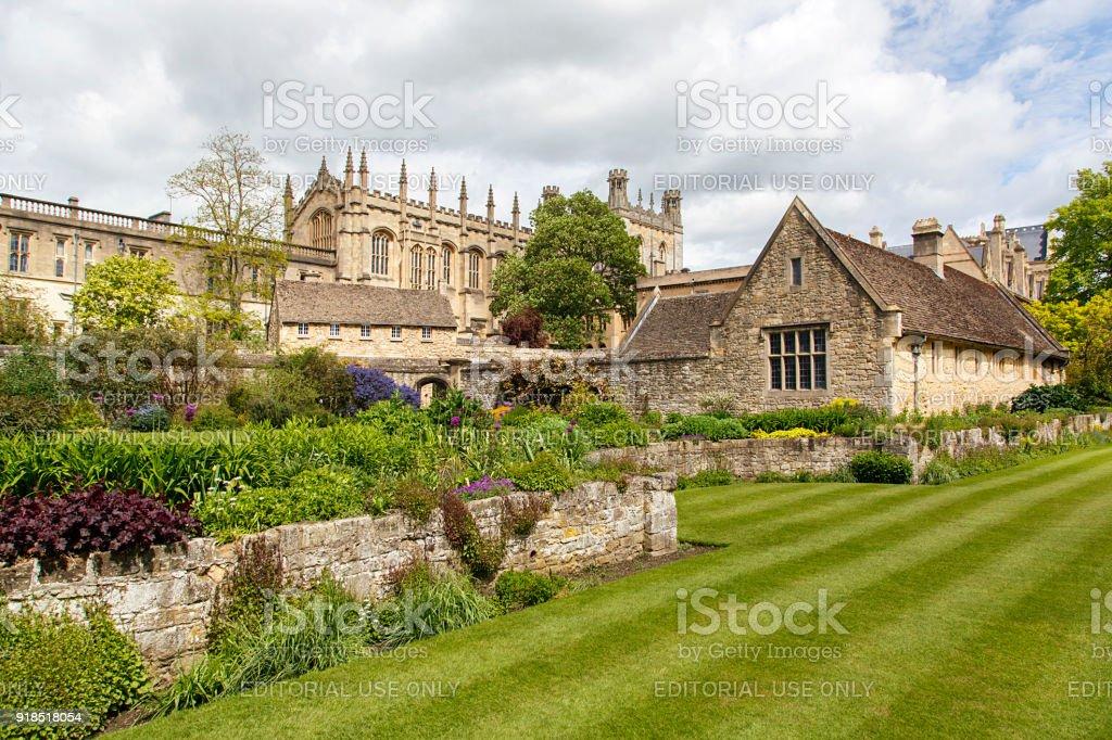 Christ Church War Memorial Gardens Oxford England Stock Photo & More ...