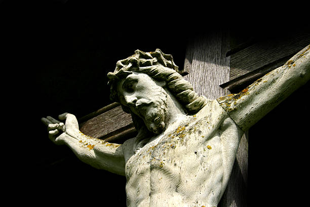 christ crucified - cursed stock pictures, royalty-free photos & images