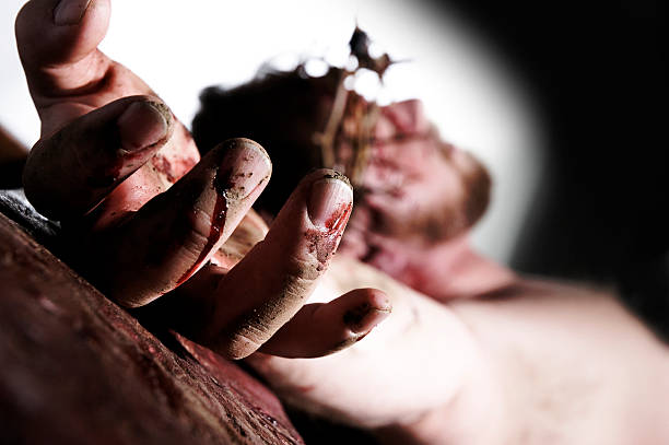 Christ crucified - foto de stock