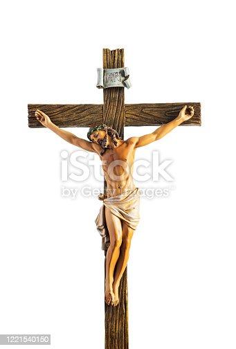 istock Christ on Cross 1221540150