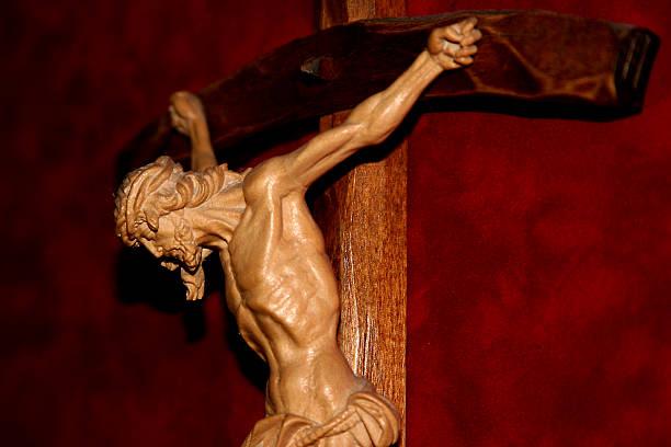 Christ on the Cross 01 stock photo