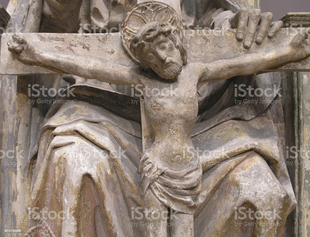 Christ on the Cross royalty-free stock photo