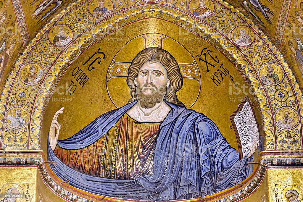 Christ Pantocrator stock photo