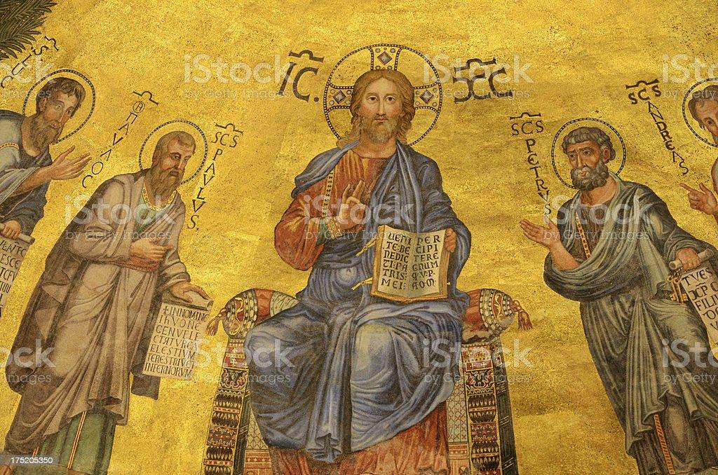 Christ Pantokrator royalty-free stock photo