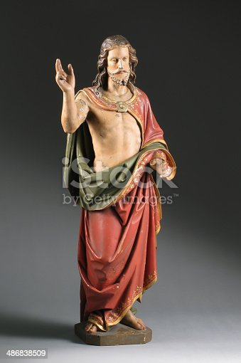 istock Christ Statue, German, 19th Century 486838509