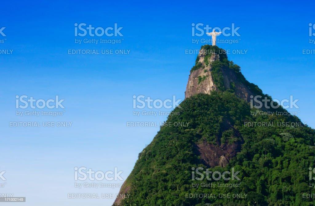 Christ the Redeemer in Rio de Janeiro royalty-free stock photo