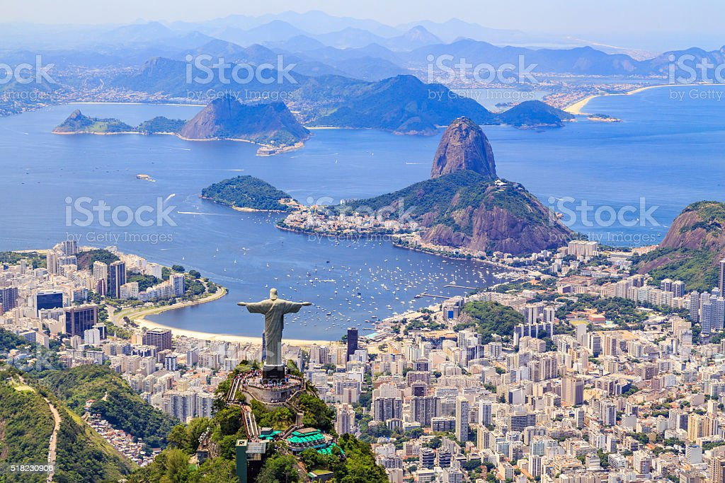 Christus der Erlöser-Statue in Rio de Janeiro – Foto