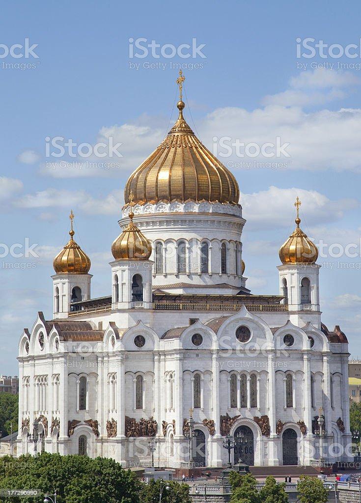 Christ the Savior Cathedral stock photo
