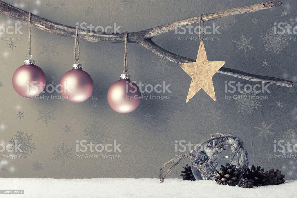 Christbaumkugeln Ornament.Christbaumkugeln Mit Stern Stock Photo Download Image Now Istock