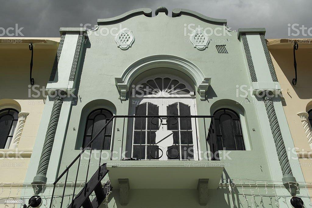 Christchurch - Building in New Regent Street stock photo