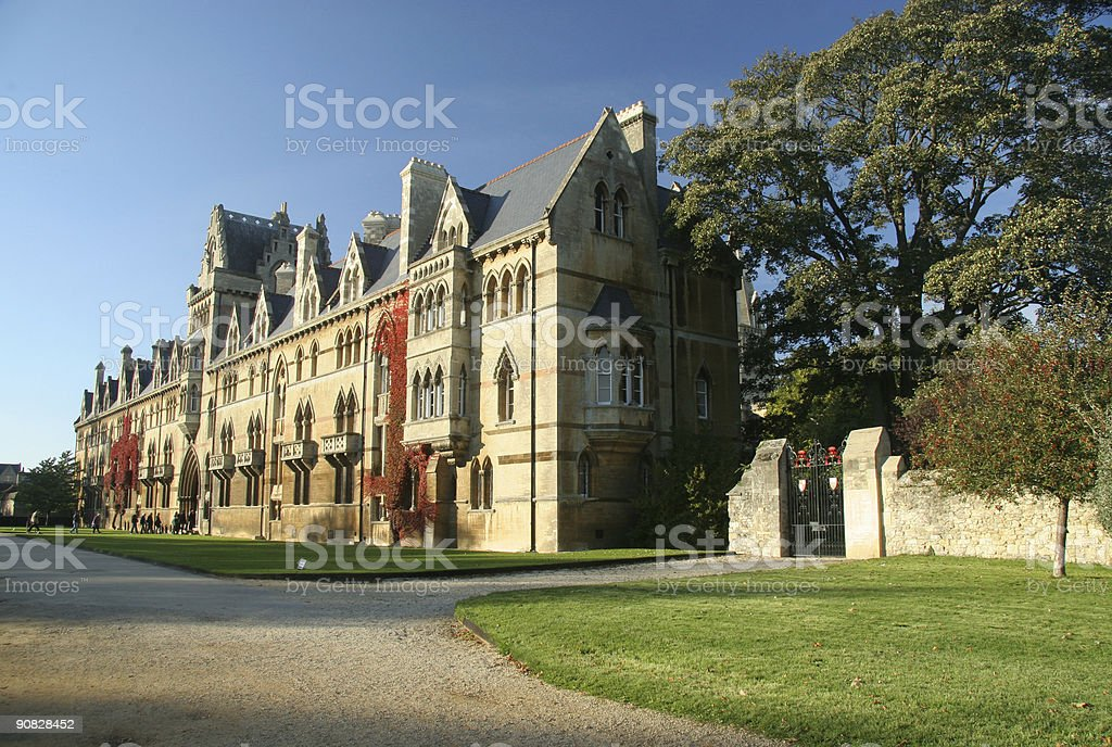 Christchurch College, Oxford University, England stock photo