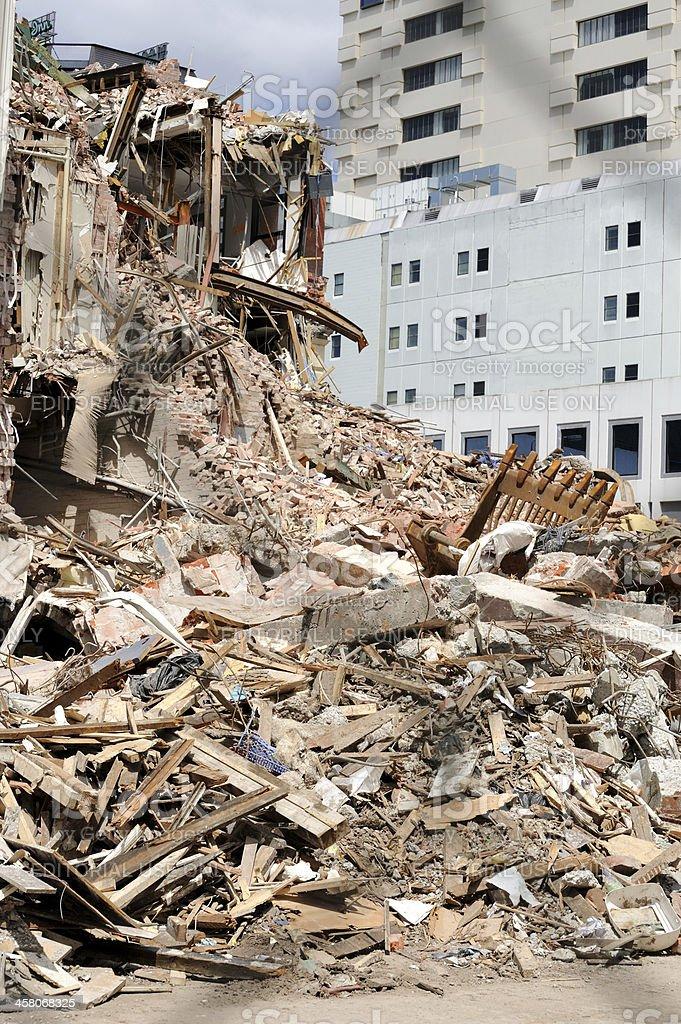 Christchurch Erdbeben Zerstorungen 2011 Stockfoto Und Mehr Bilder Von Abbrechen Istock