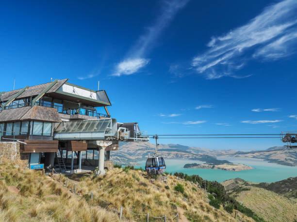 Christchurch Gondola in Neuseeland. – Foto
