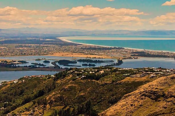 Christchurch stock photo