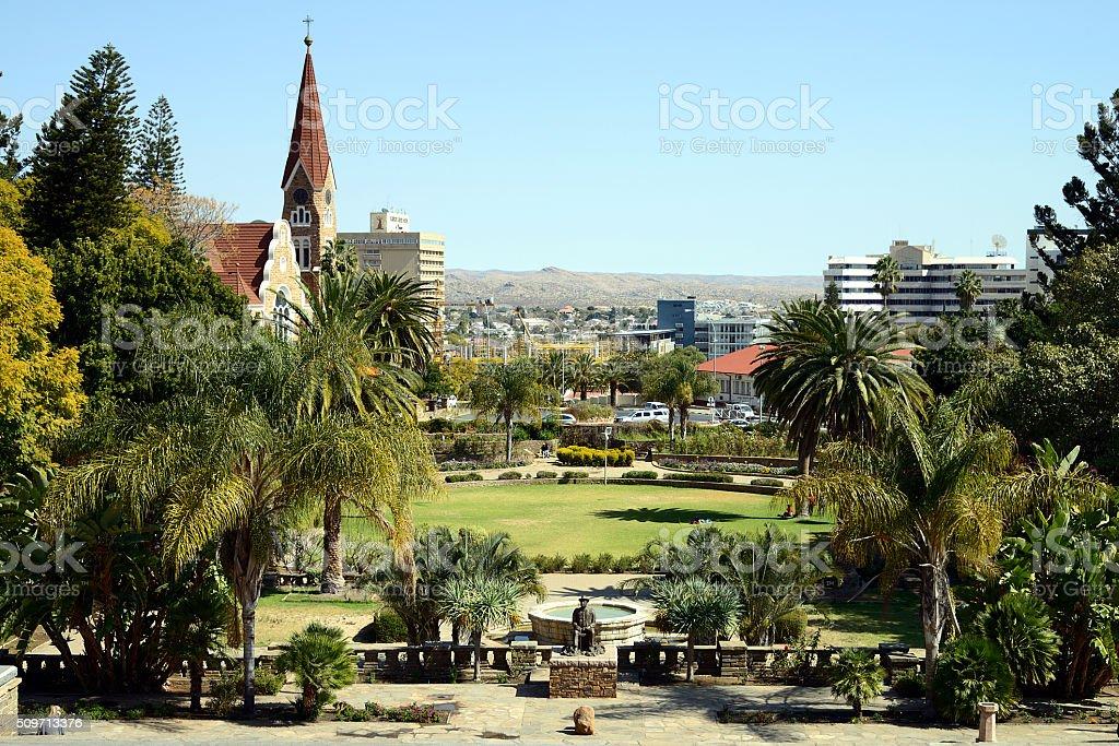 Christchurch, Windhoek, Namibia stock photo