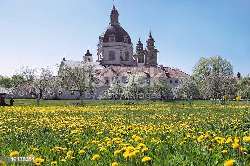 Pazaislis Camaldolese Monastery in Lithuania.