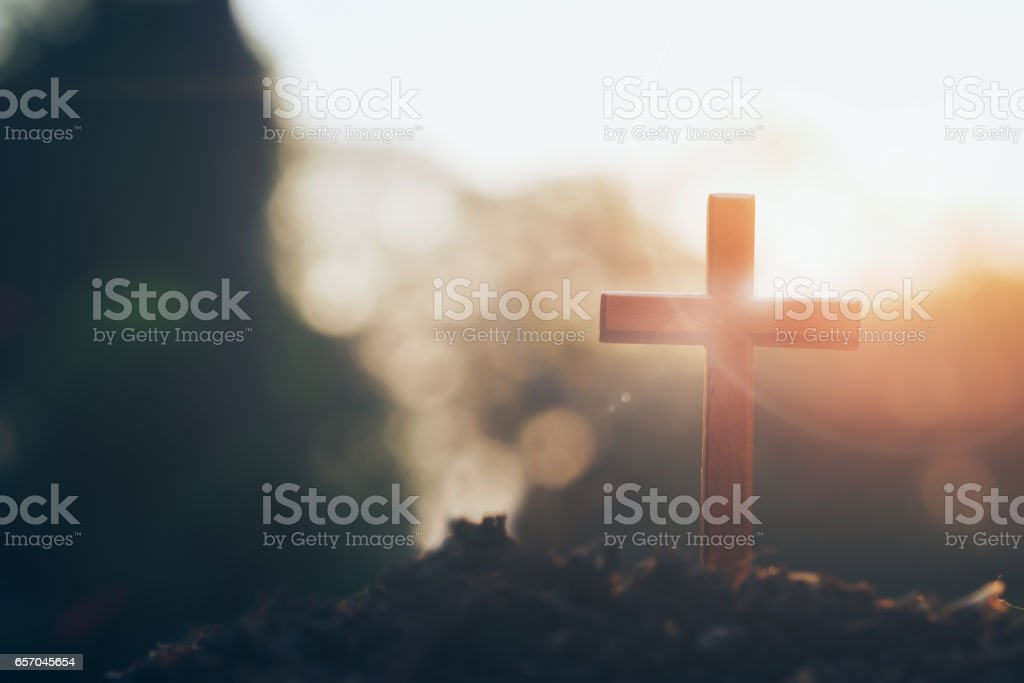 Christian, Christianity, Religion background. stock photo