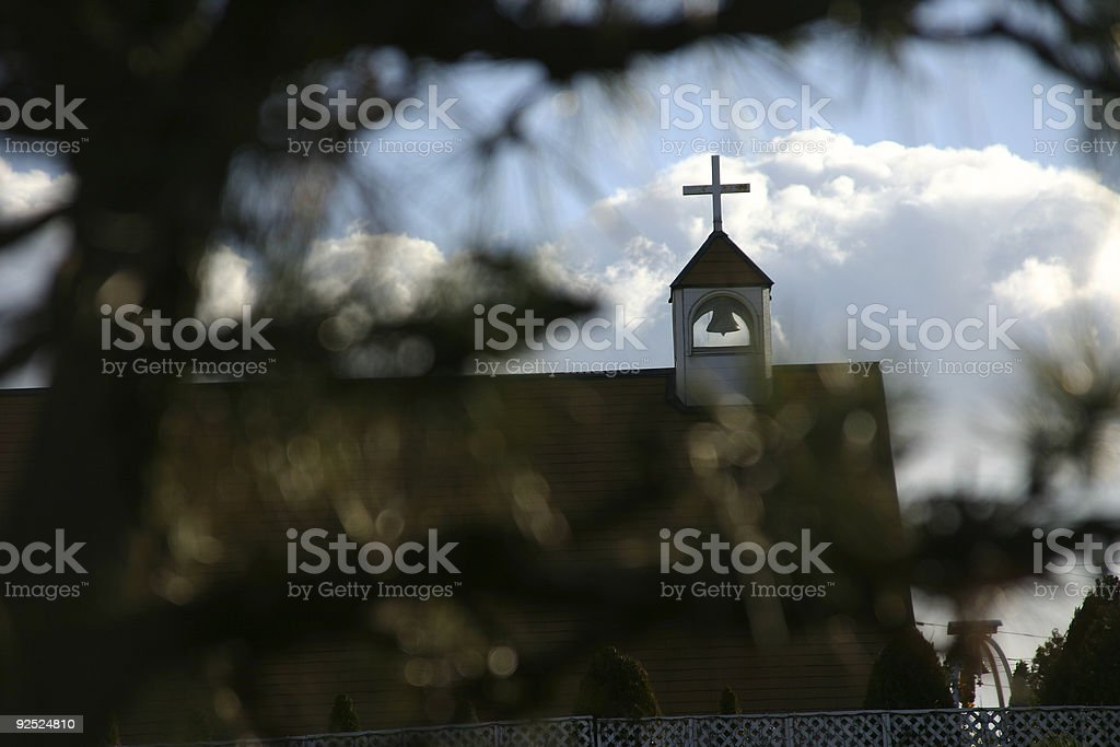 christian church stock photo