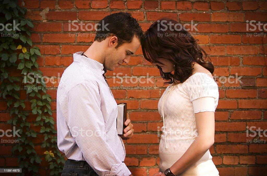 Christian Couple royalty-free stock photo