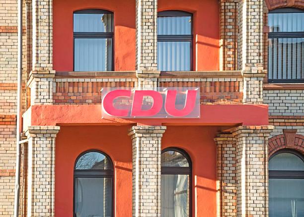 christdemokratischen union in deutschland - la union stock-fotos und bilder