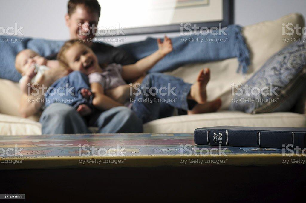 Christian Family royalty-free stock photo
