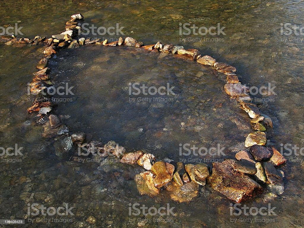 Christian fish (ichthus) stock photo