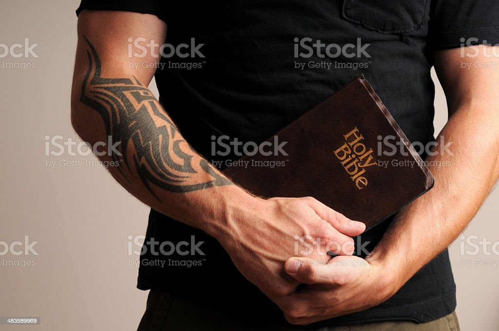 Christian Guy royalty-free stock photo