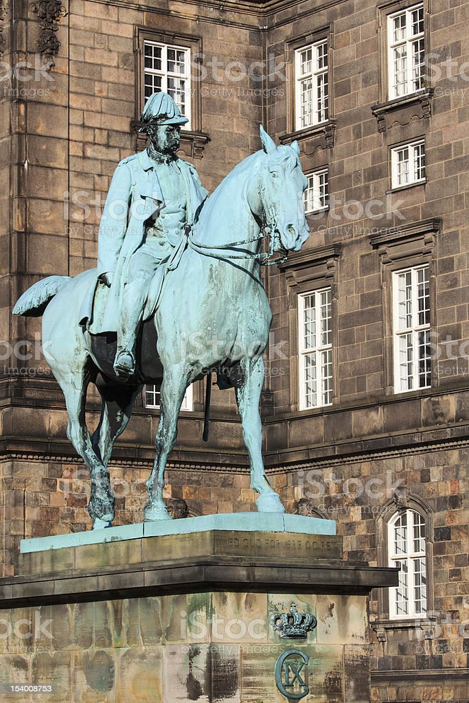 Christian, King of Denmark royalty-free stock photo